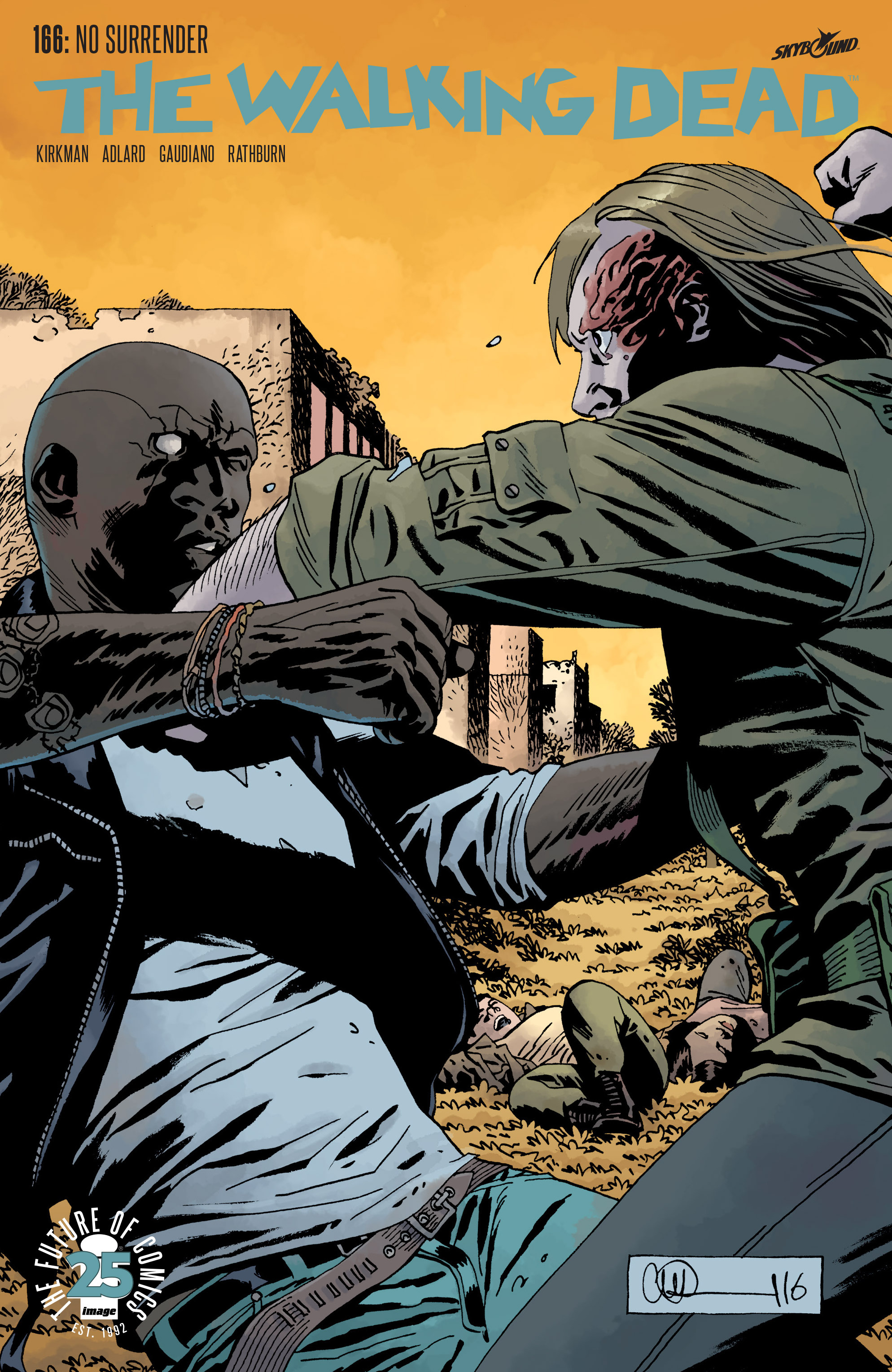 The Walking Dead 166 Page 1