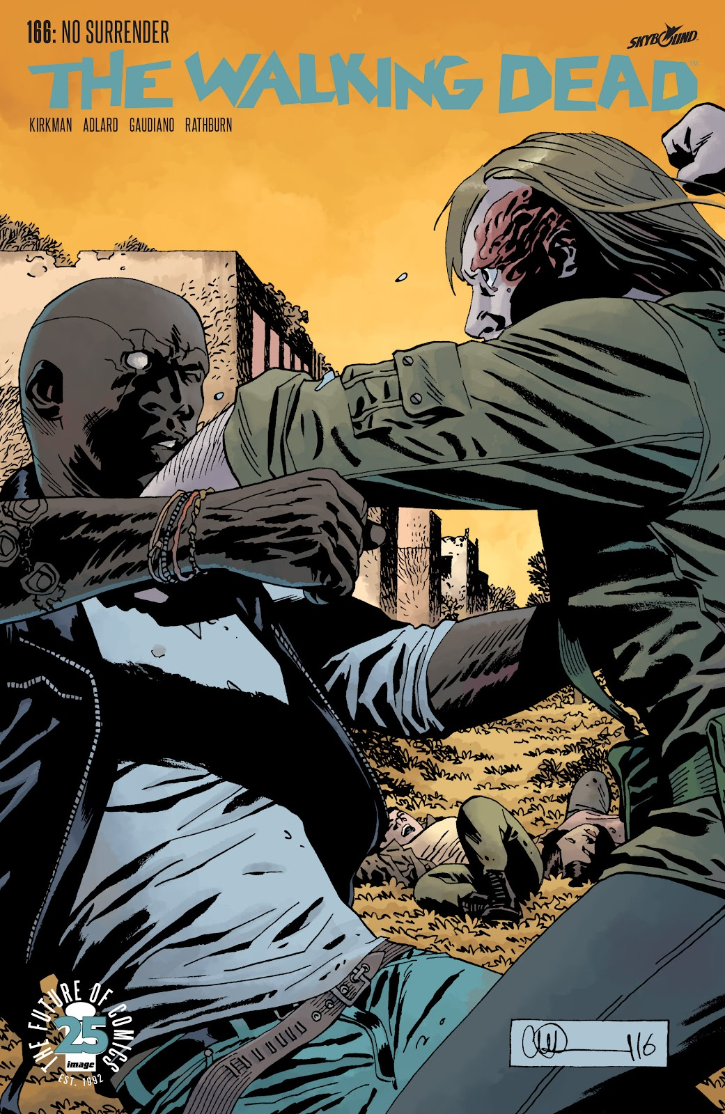 The Walking Dead Issue #166 Page 1