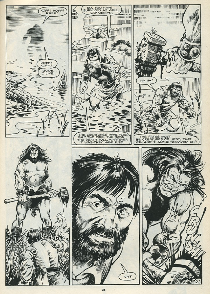 The Savage Sword Of Conan Issue #172 #173 - English 25