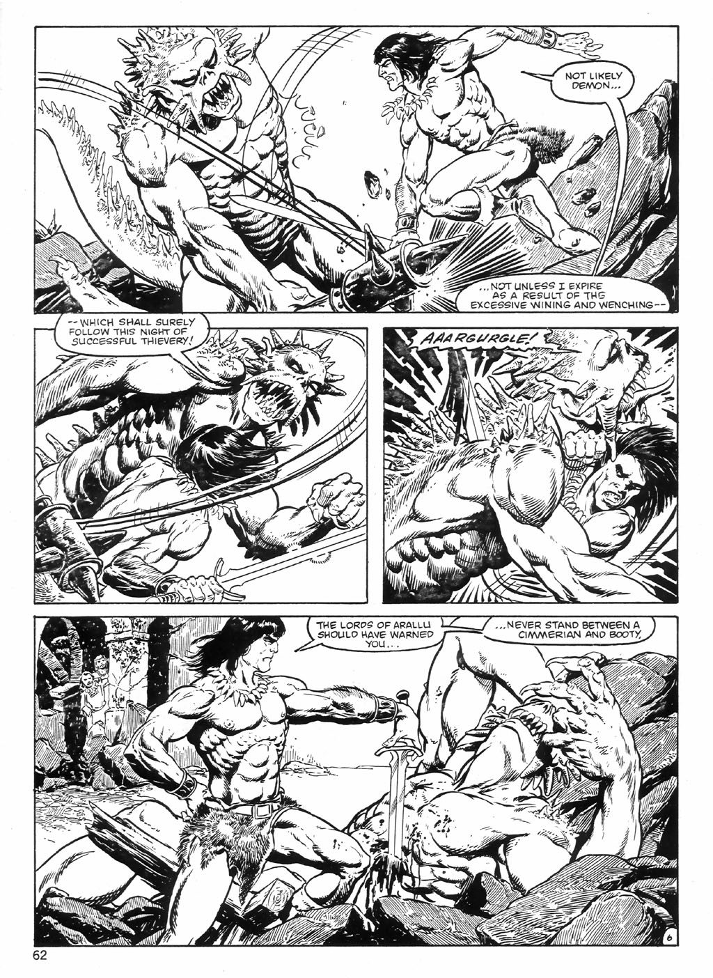 The Savage Sword Of Conan Issue #98 #99 - English 62