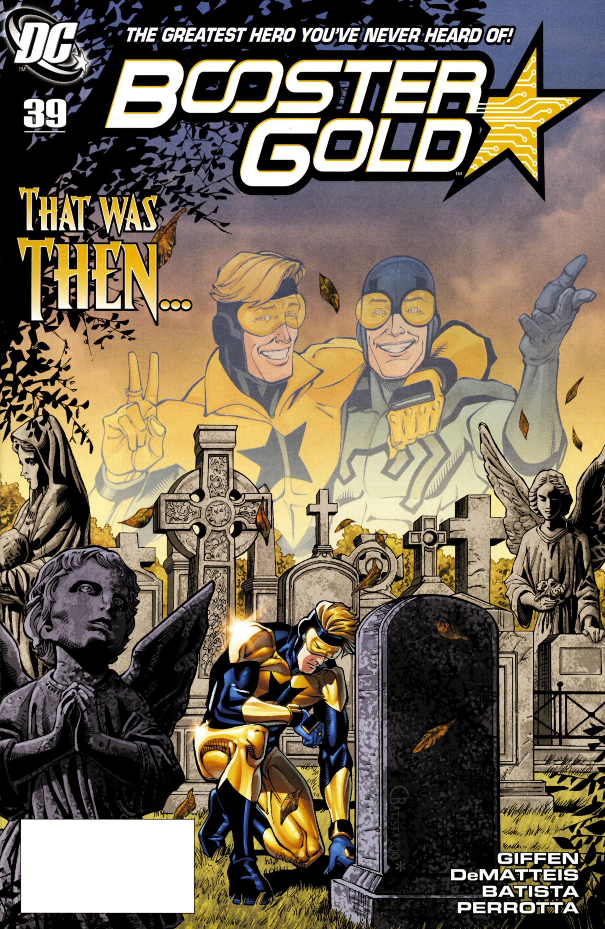 Booster Gold (2007) 39 Page 1