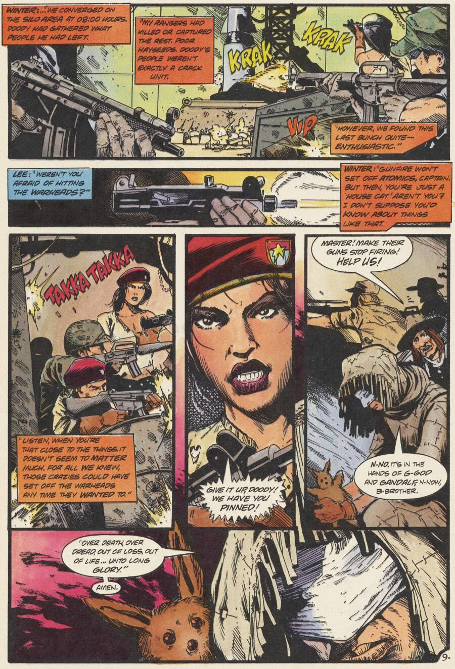 Read online Scout comic -  Issue #14 - 10