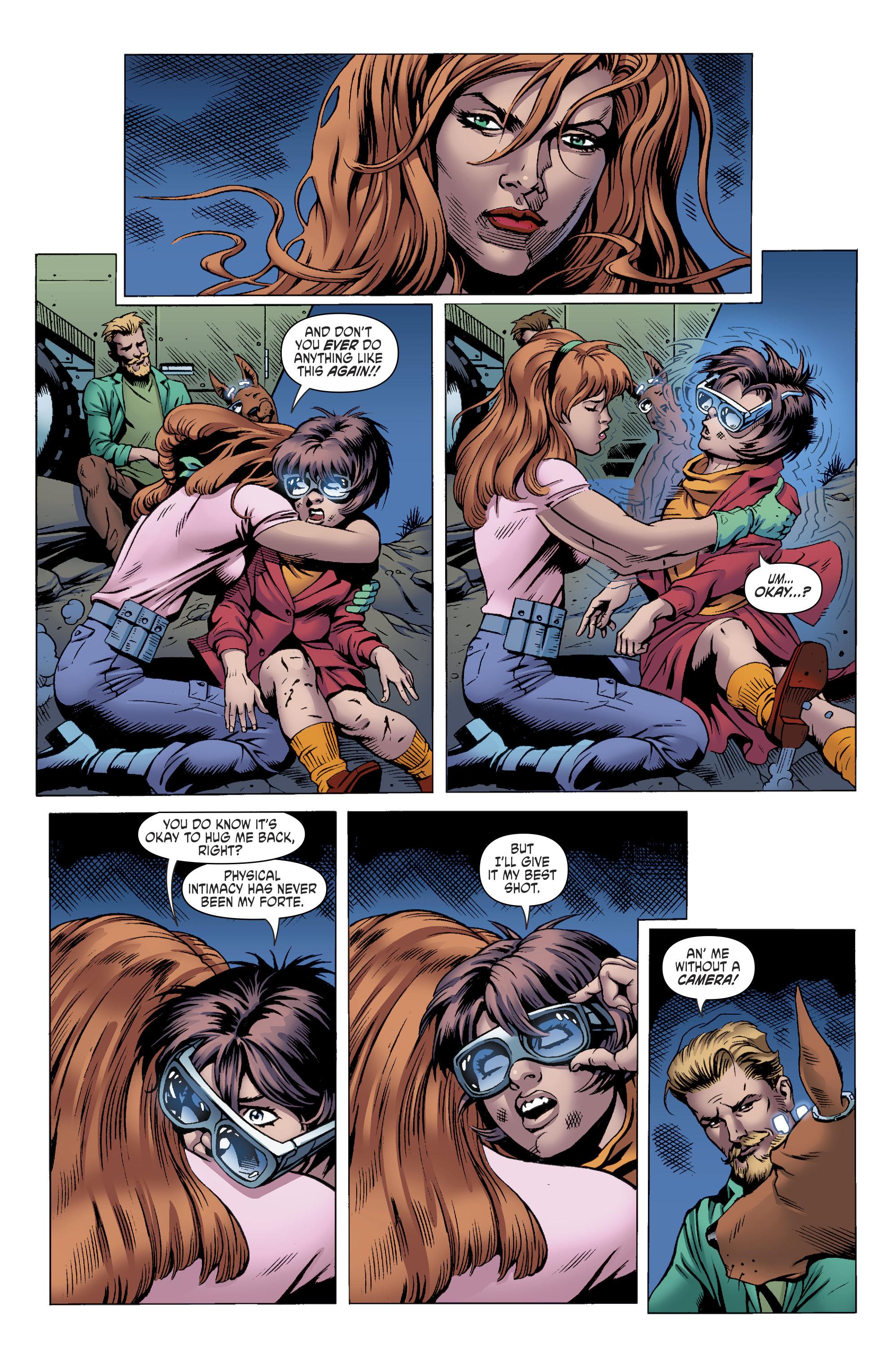 Read online Scooby Apocalypse comic -  Issue #11 - 19