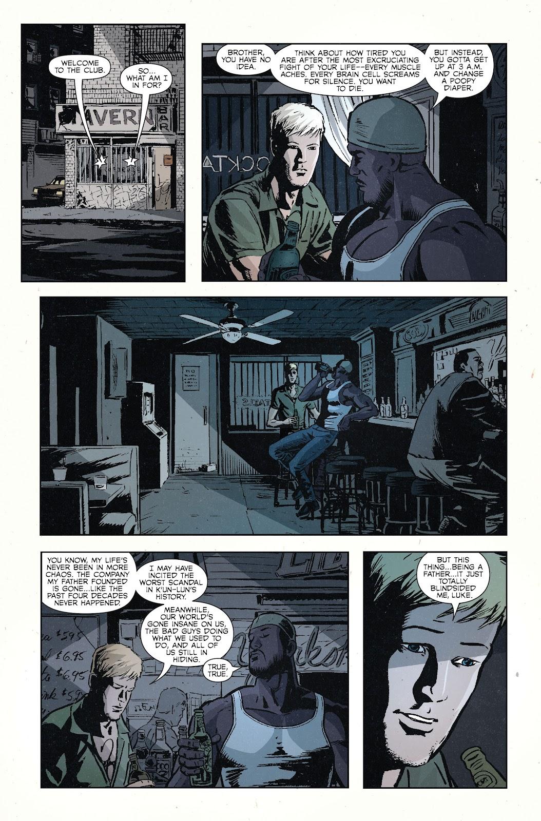 The Immortal Iron Fist Issue #27 #28 - English 24