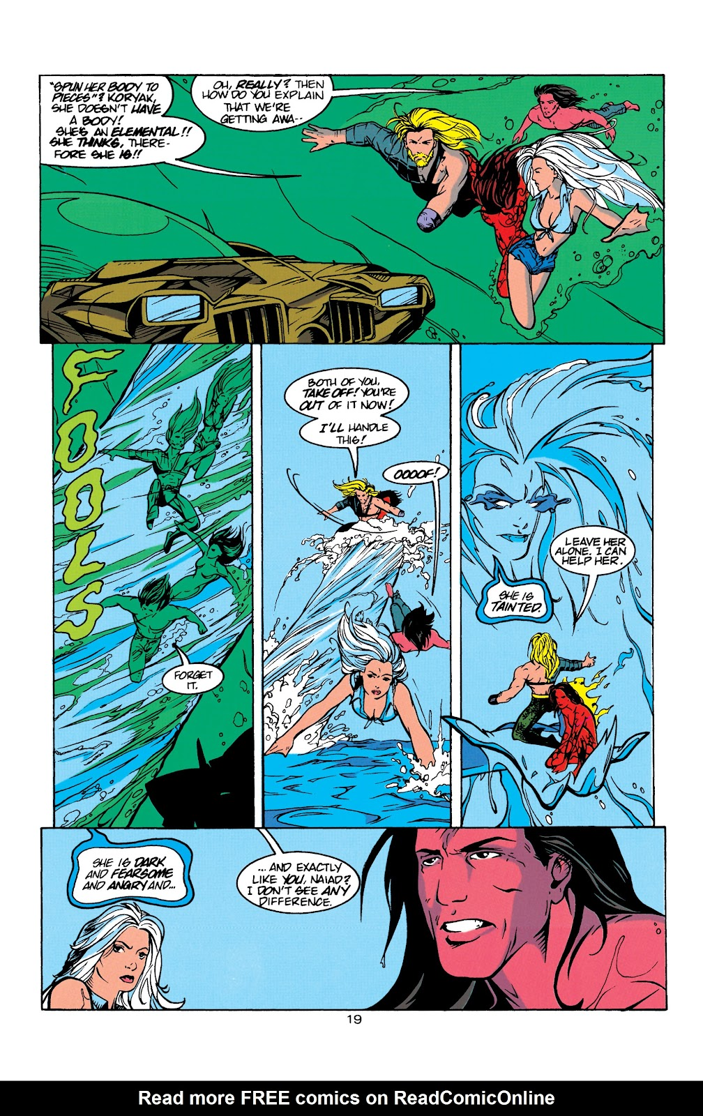 Aquaman (1994) Issue #8 #14 - English 20