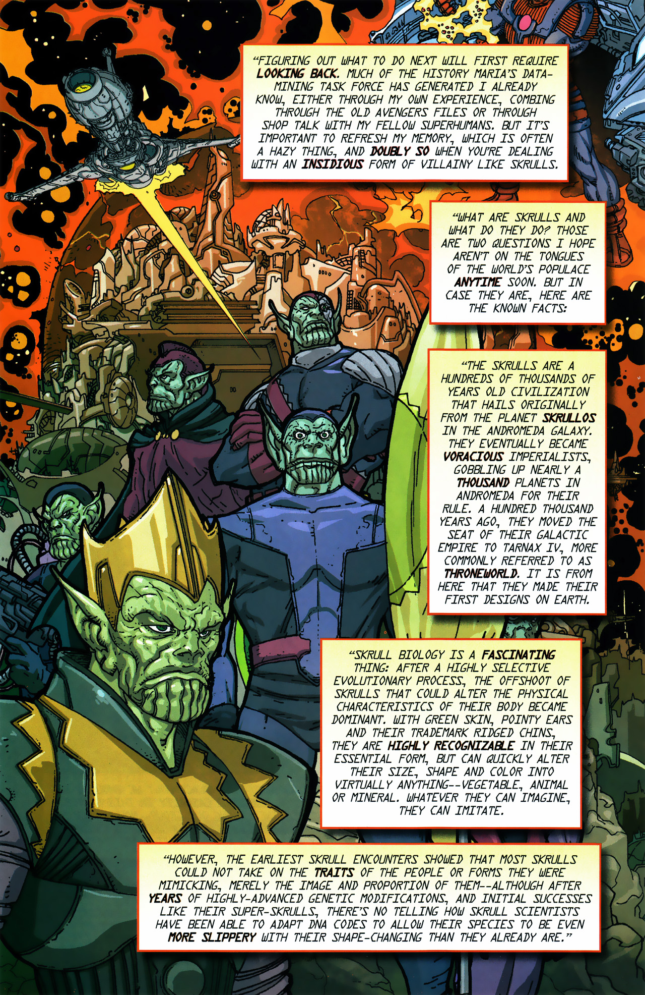Read online Secret Invasion Saga comic -  Issue # Full - 8