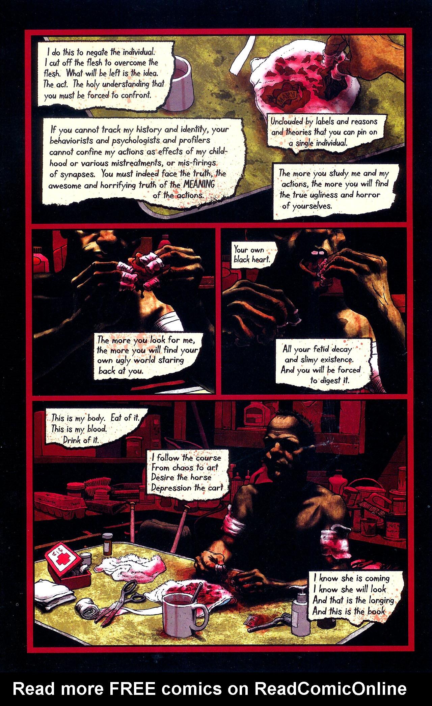 Read online Se7en comic -  Issue #6 - 7