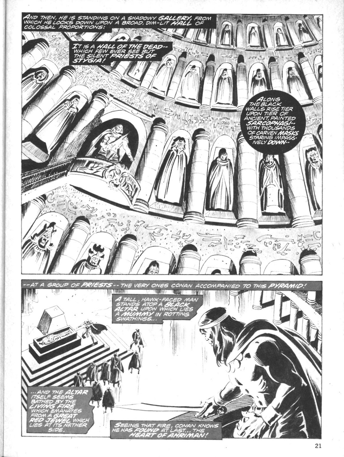 The Savage Sword Of Conan Issue #10 #11 - English 19