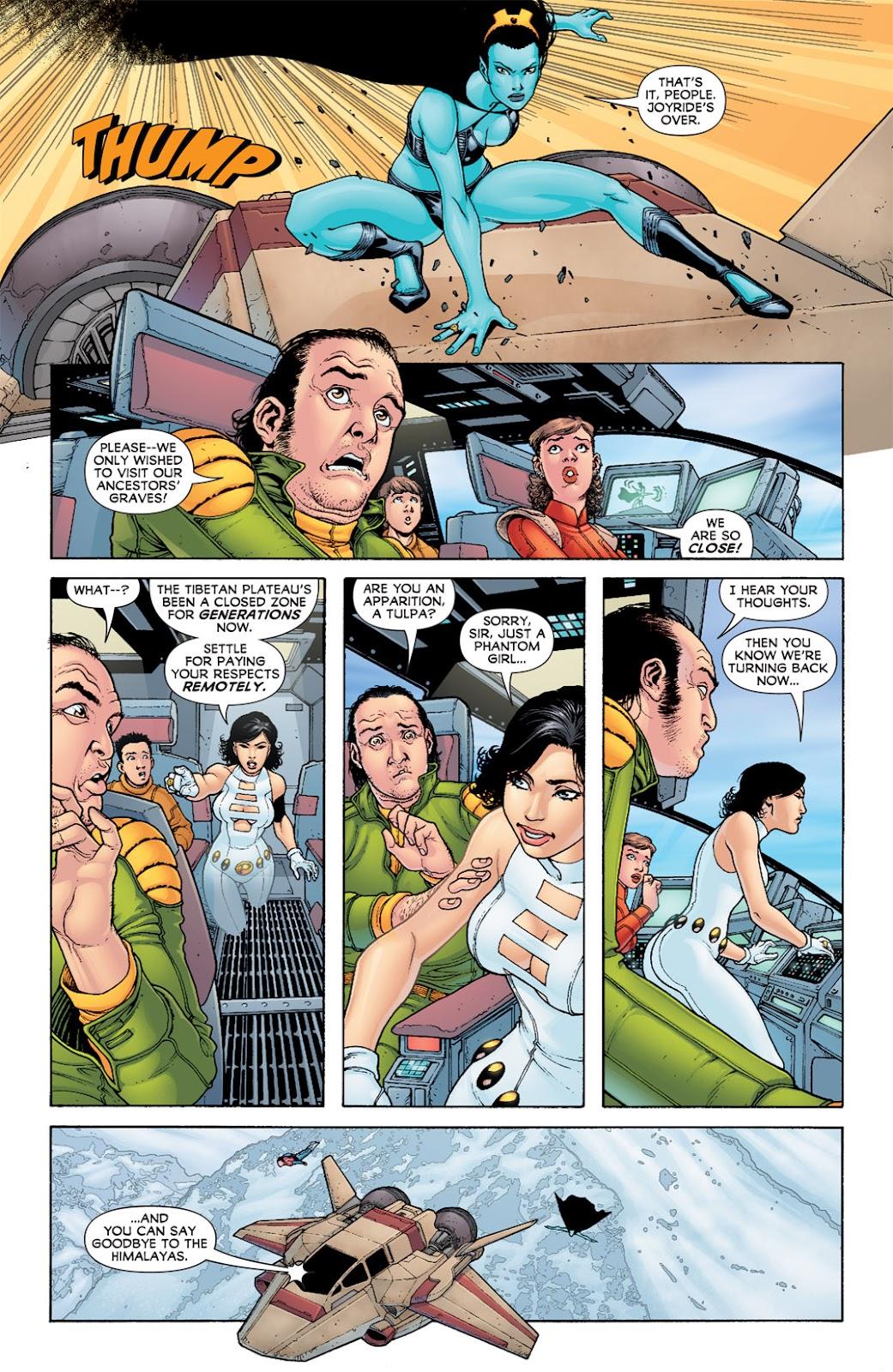 Legion of Super-Heroes (2010) Issue #6 #7 - English 5