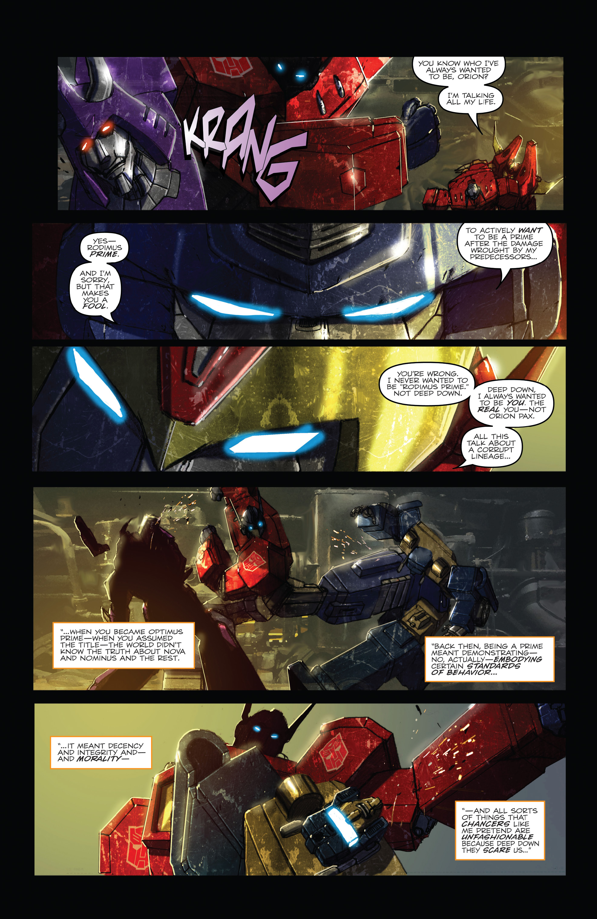 Read online The Transformers: Dark Cybertron Finale comic -  Issue # Full - 66