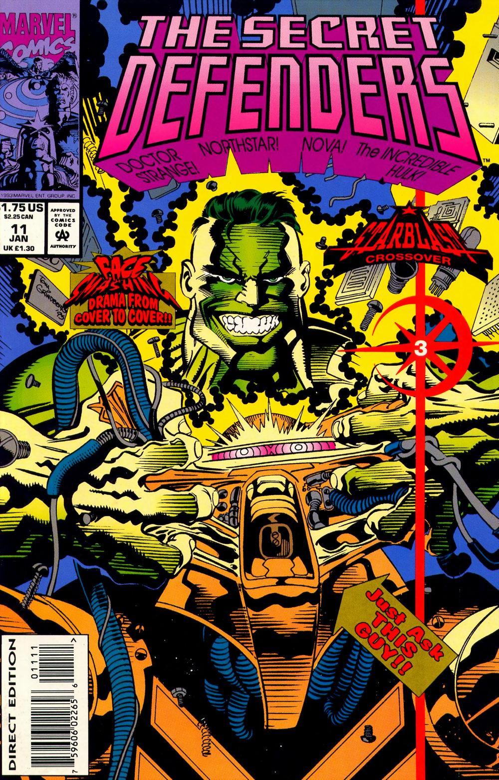 Read online Secret Defenders comic -  Issue #11 - 1