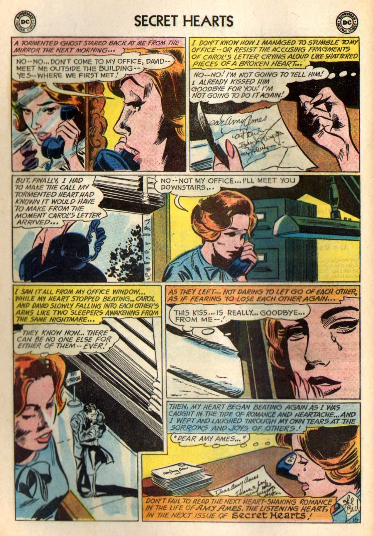 Read online Secret Hearts comic -  Issue #98 - 34