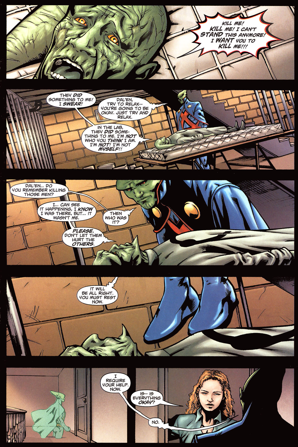 Read online Martian Manhunter (2006) comic -  Issue #6 - 10