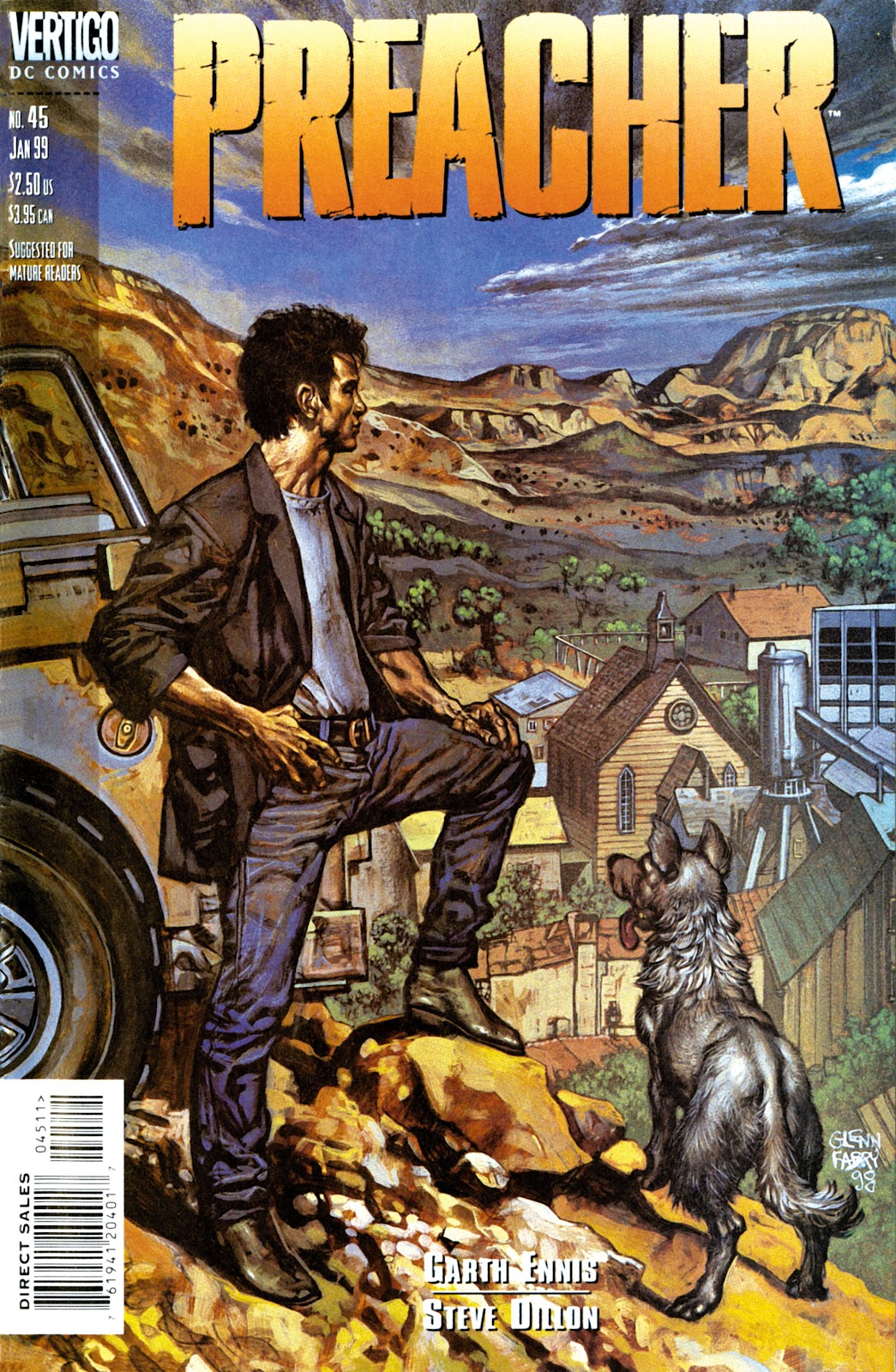 Preacher Issue #45 #54 - English 1