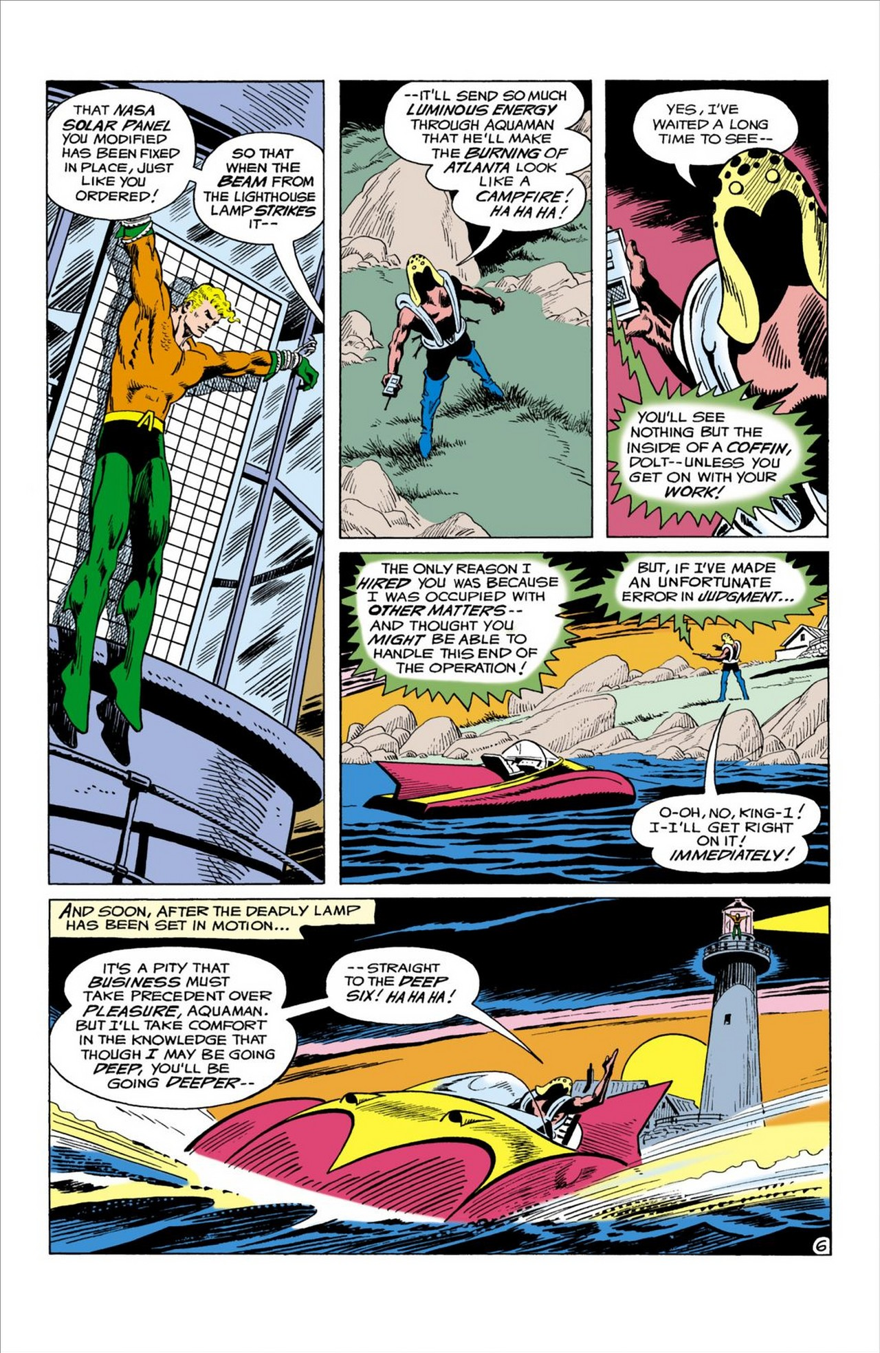 Read online Aquaman (1962) comic -  Issue #58 - 7