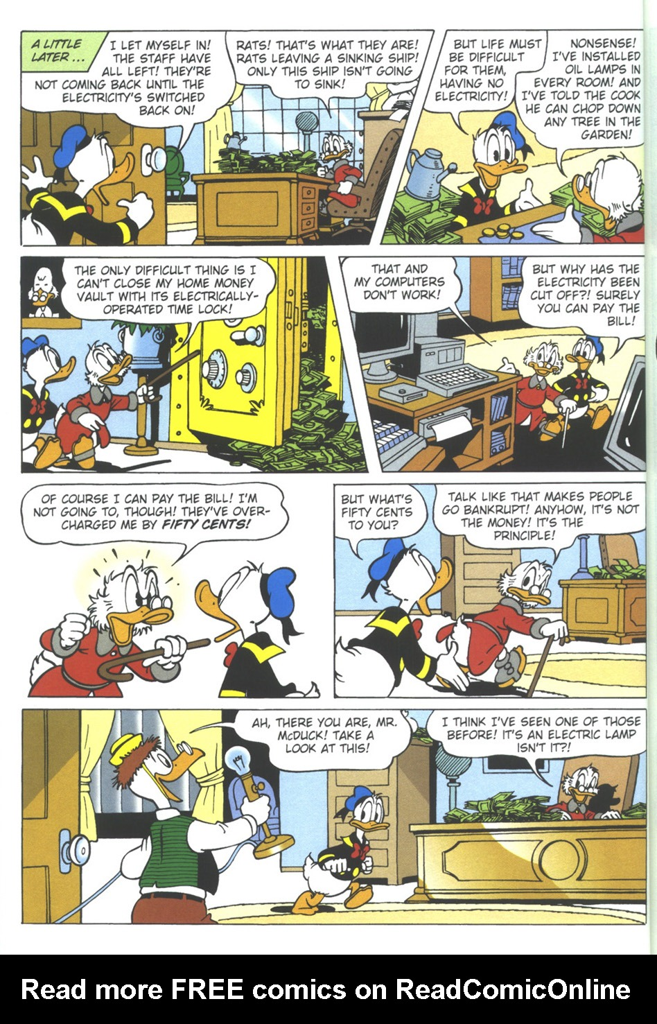 Uncle Scrooge (1953) Issue #309 #309 - English 22