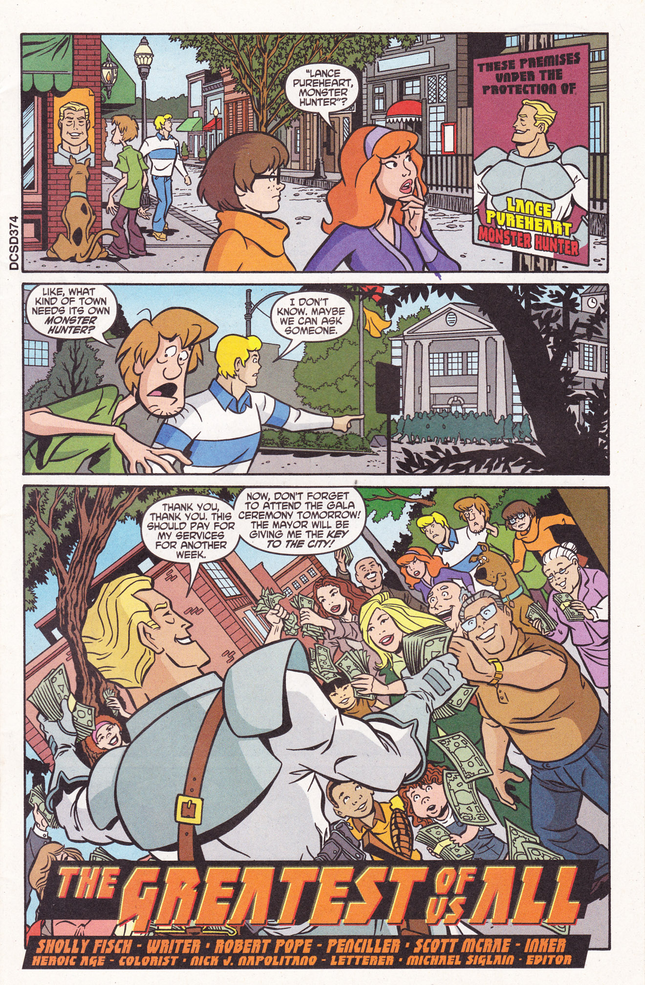 Read online Scooby-Doo (1997) comic -  Issue #110 - 3