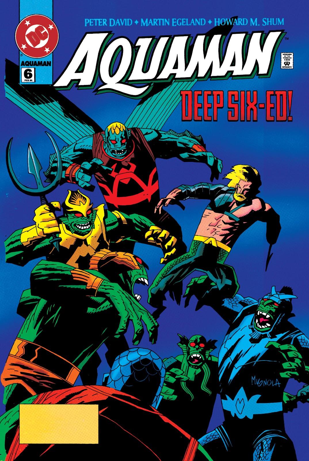 Aquaman (1994) Issue #6 #12 - English 1