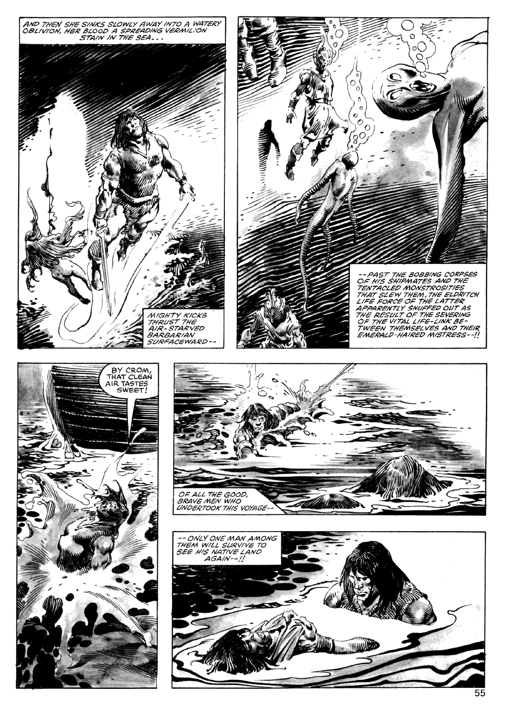 The Savage Sword Of Conan Issue #101 #102 - English 55