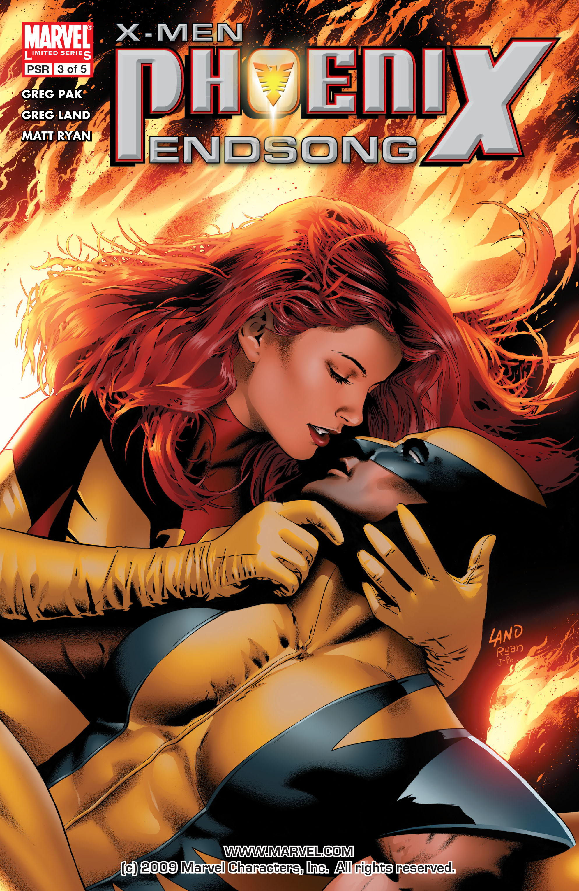 Read online X-Men: Phoenix - Endsong comic -  Issue #3 - 1
