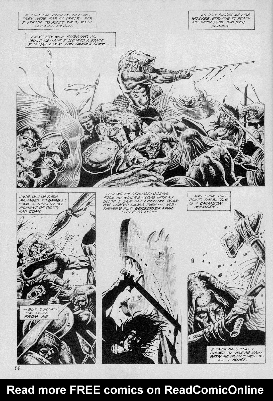 The Savage Sword Of Conan Issue #103 #104 - English 57