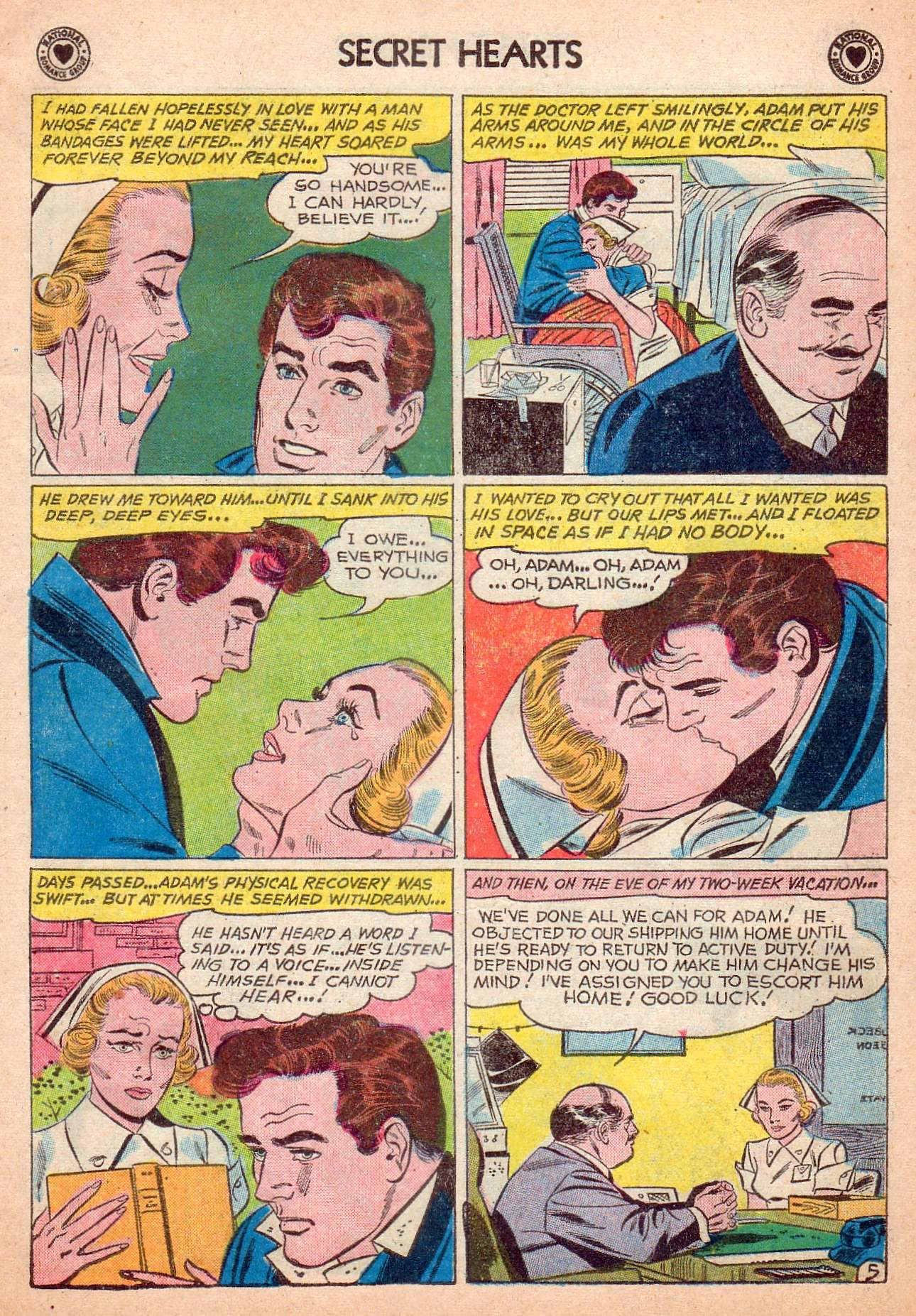 Read online Secret Hearts comic -  Issue #63 - 31