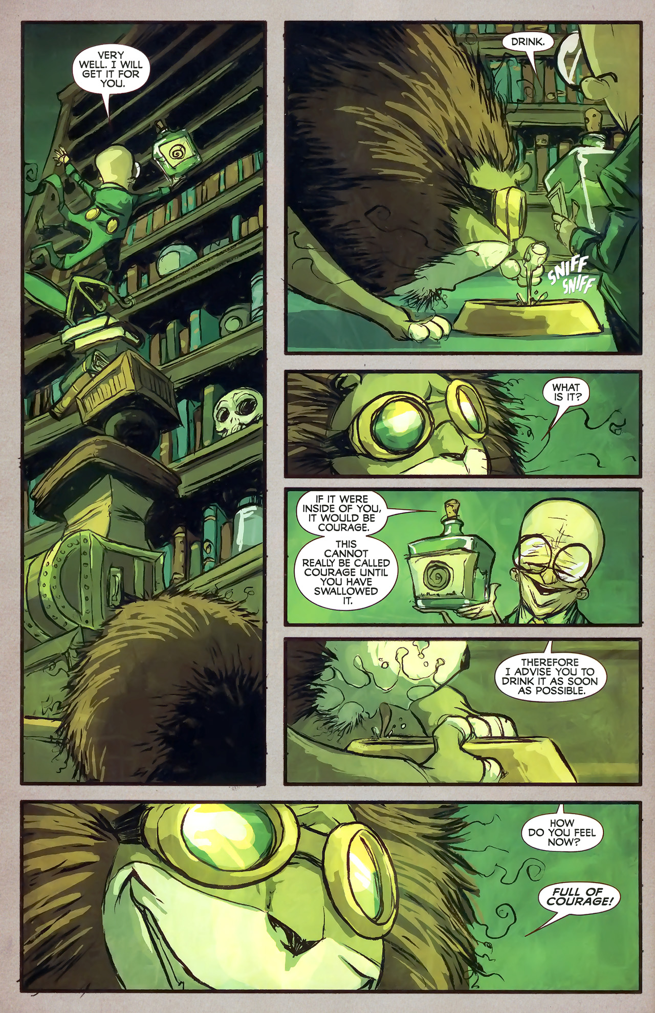 Read online The Wonderful Wizard of Oz comic -  Issue #7 - 6