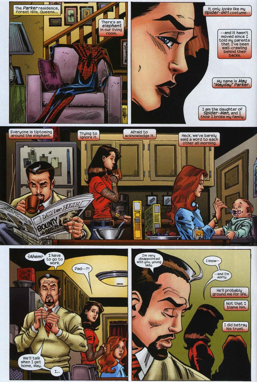 Amazing Spider-Girl Issue #7 #8 - English 6