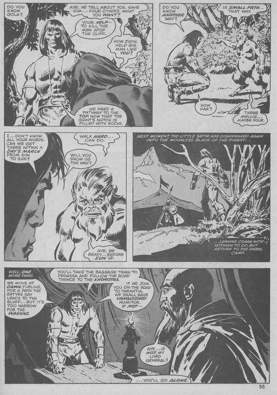 The Savage Sword Of Conan Issue #51 #52 - English 55