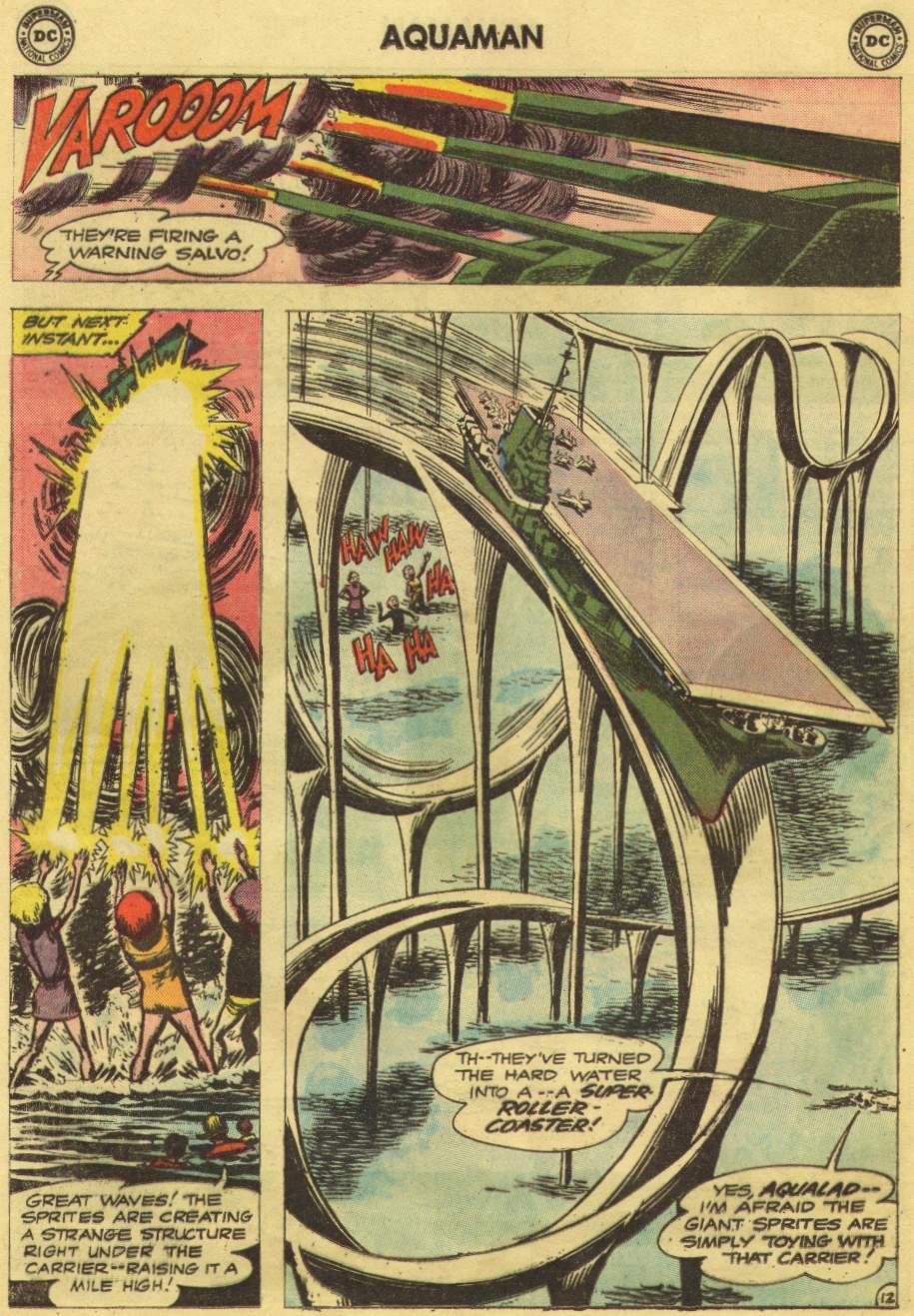 Aquaman (1962) Issue #10 #10 - English 16