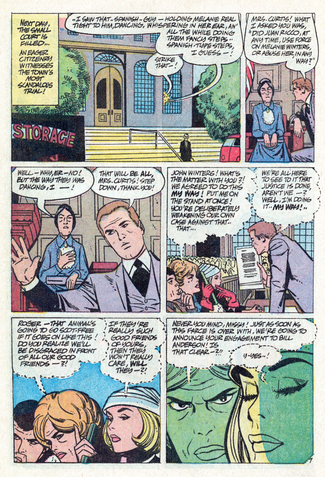 Read online Secret Hearts comic -  Issue #142 - 16