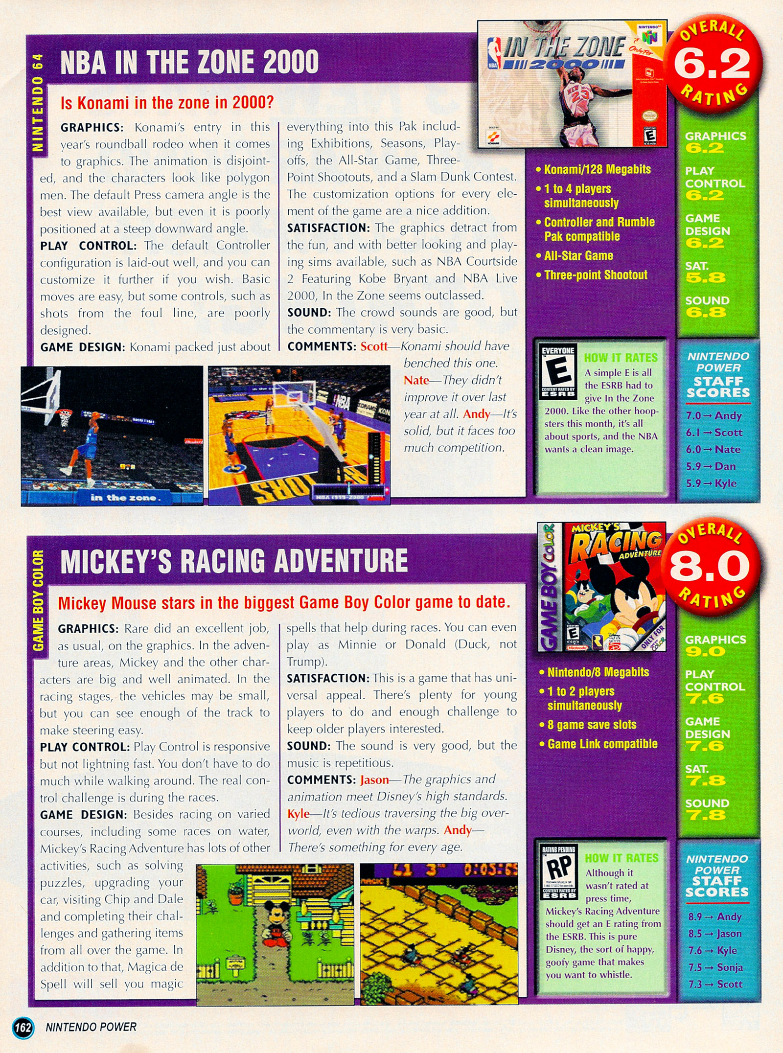 Nintendo Power #127 #127 - English 187