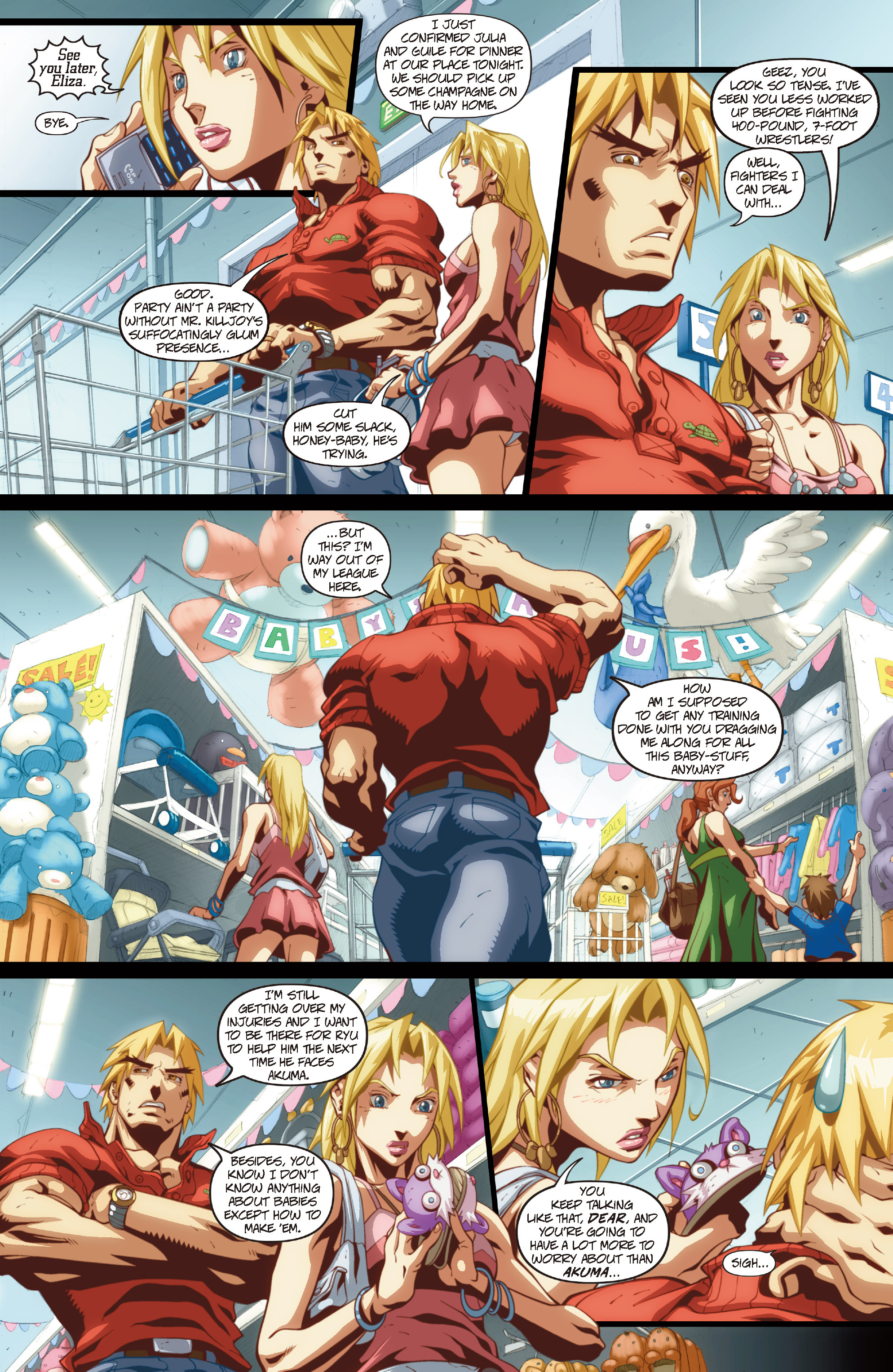 Street Fighter II chap 1 pic 30