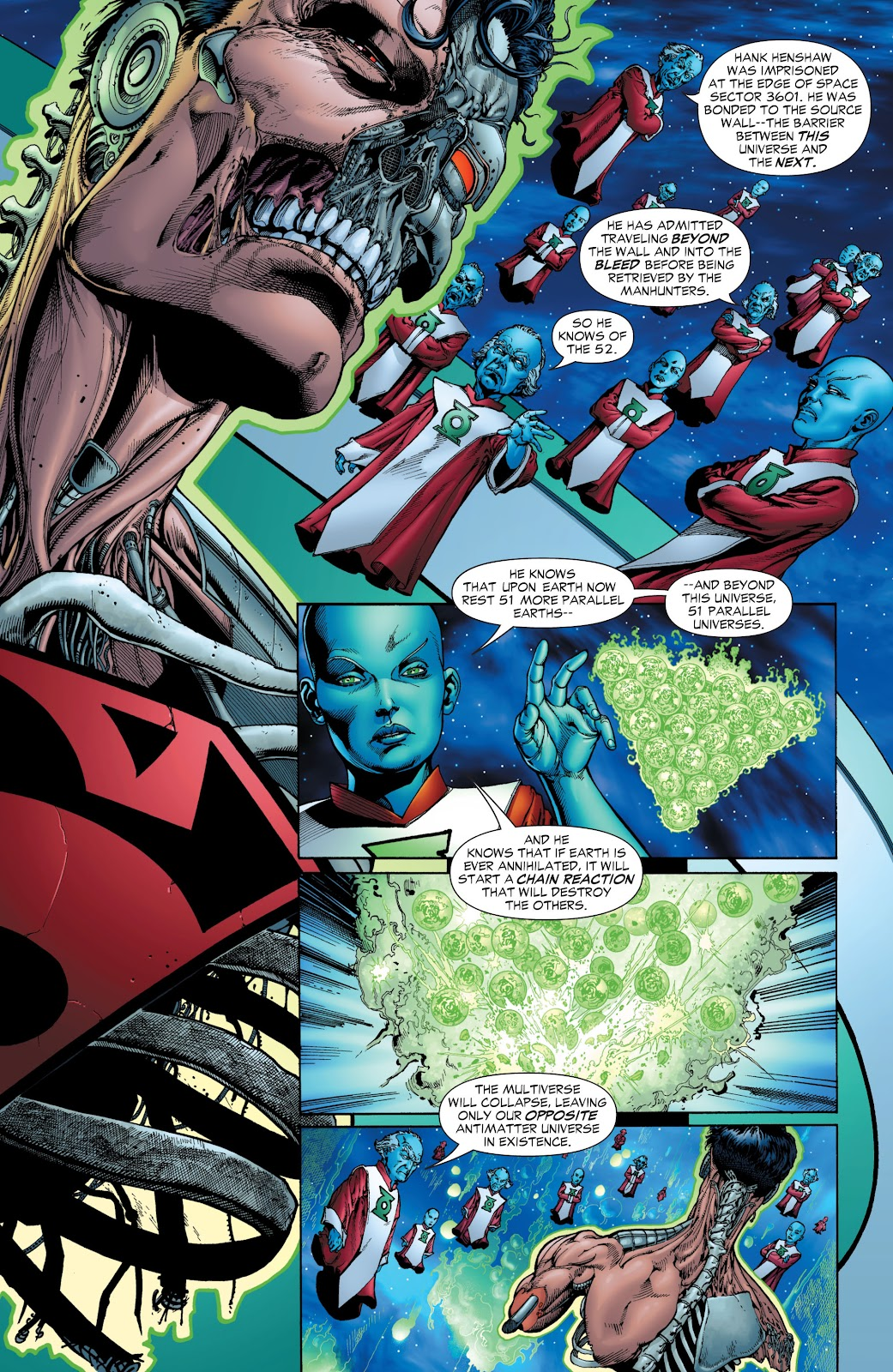 Green Lantern: The Sinestro Corps War Full #1 - English 21
