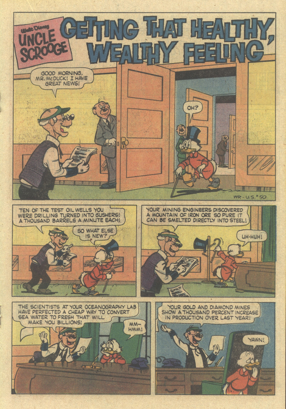 Uncle Scrooge (1953) Issue #187 #187 - English 19