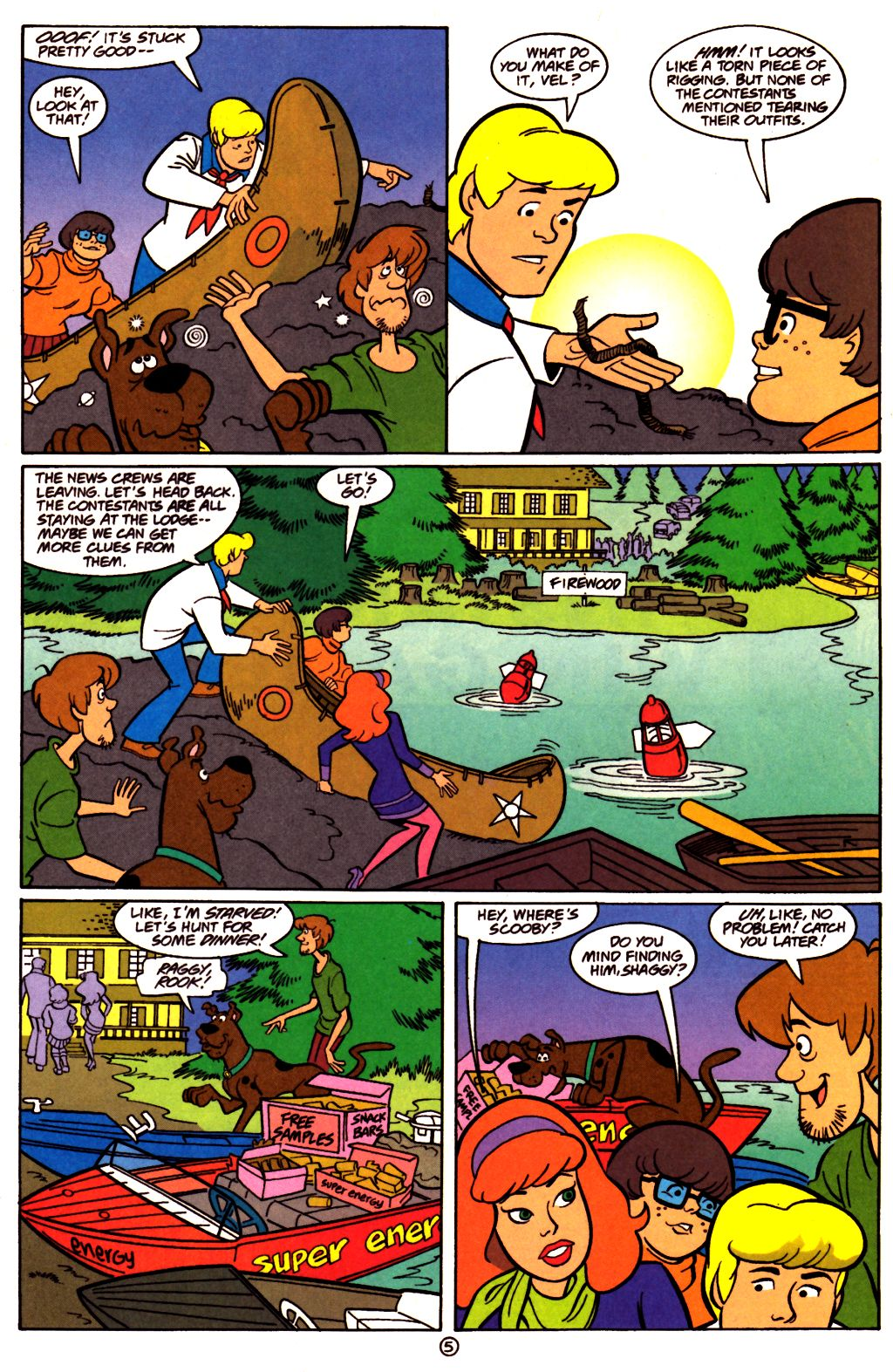 Read online Scooby-Doo (1997) comic -  Issue #23 - 6