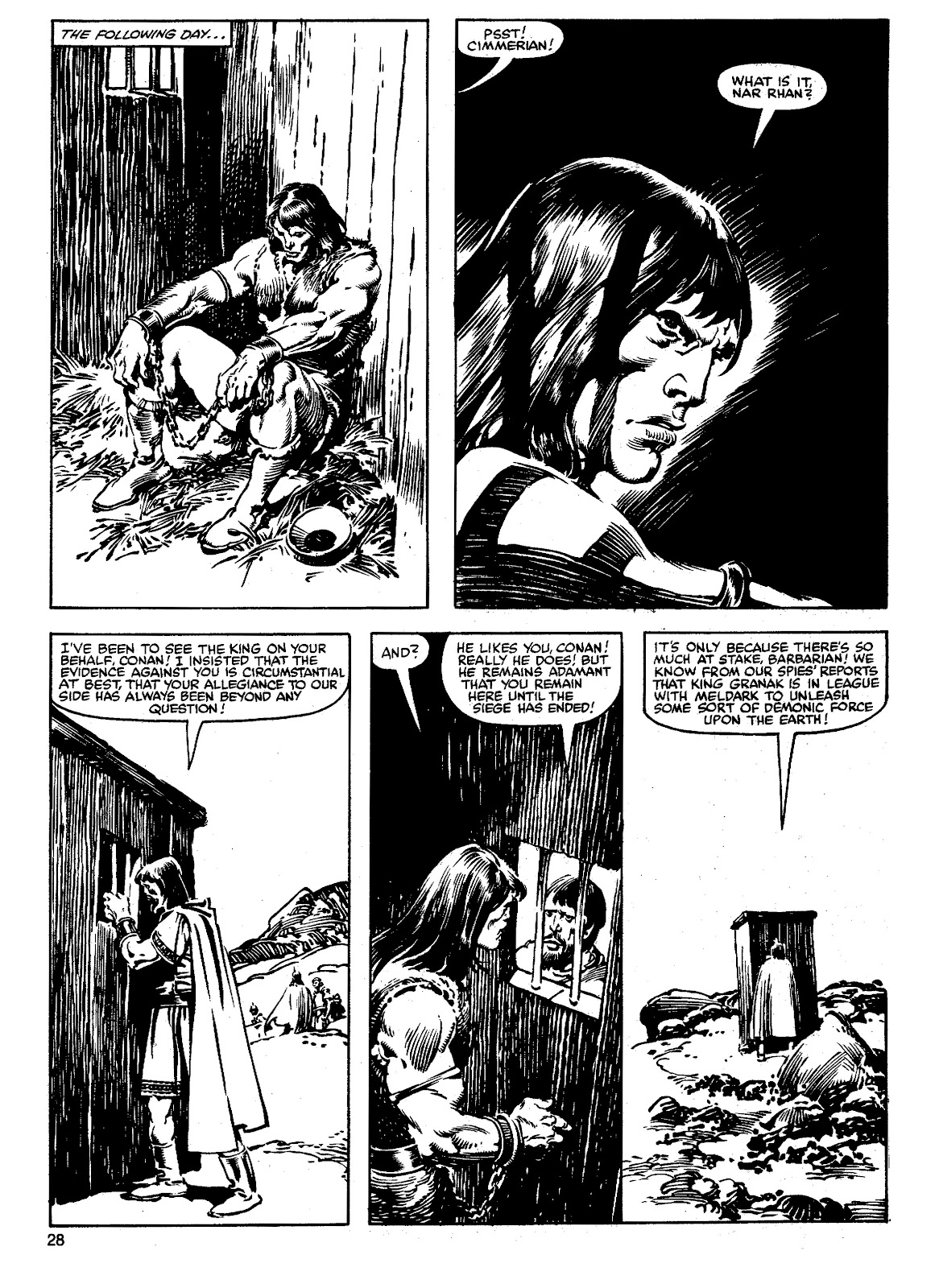 The Savage Sword Of Conan Issue #90 #91 - English 27