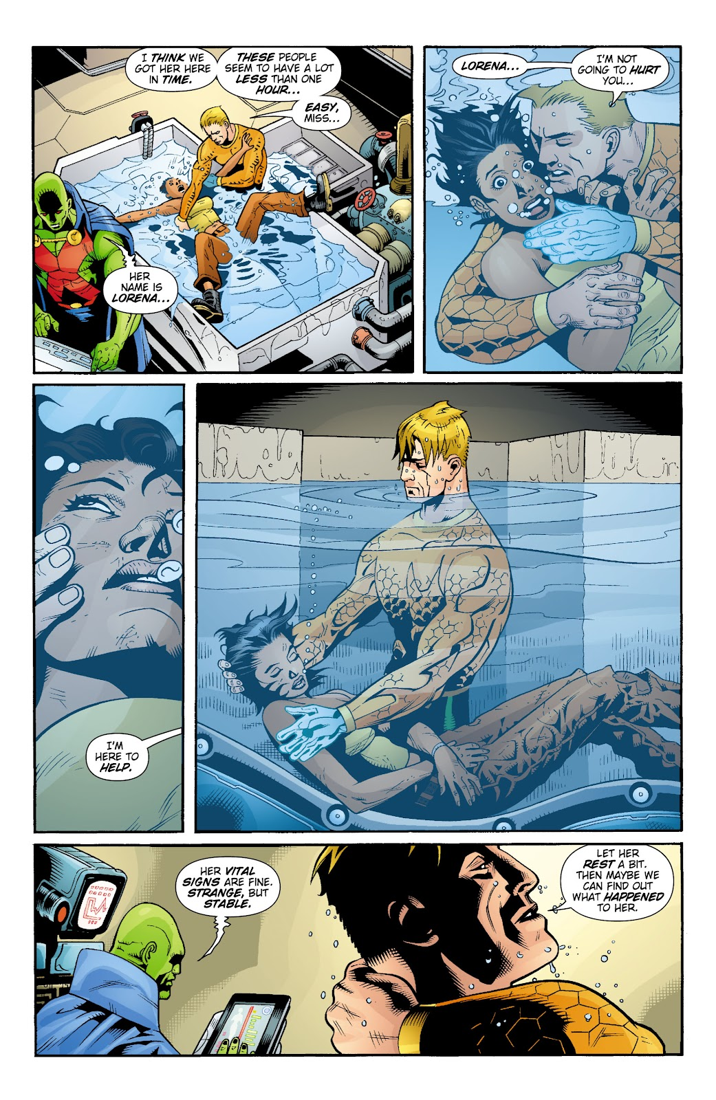 Aquaman (2003) Issue #16 #16 - English 10