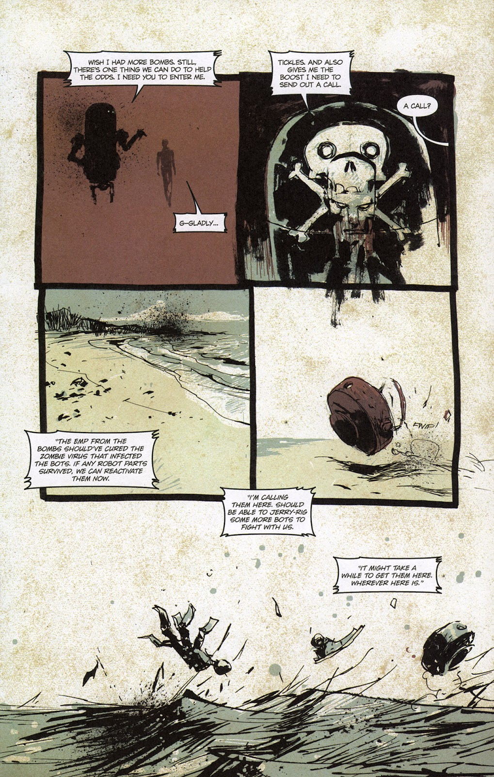 Zombies vs. Robots vs. Amazons Issue #1 Page 20