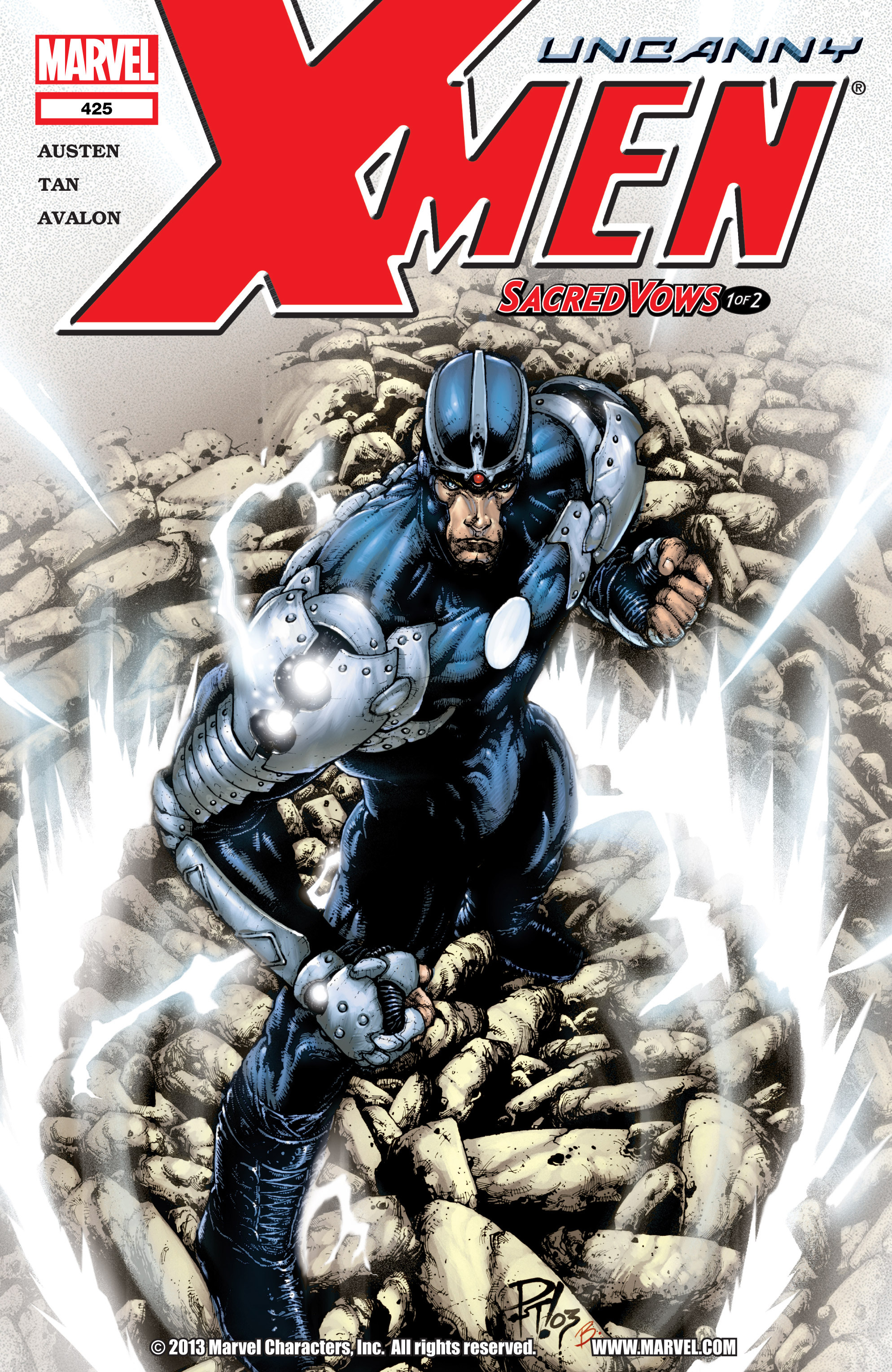 Uncanny X-Men (1963) 425 Page 1