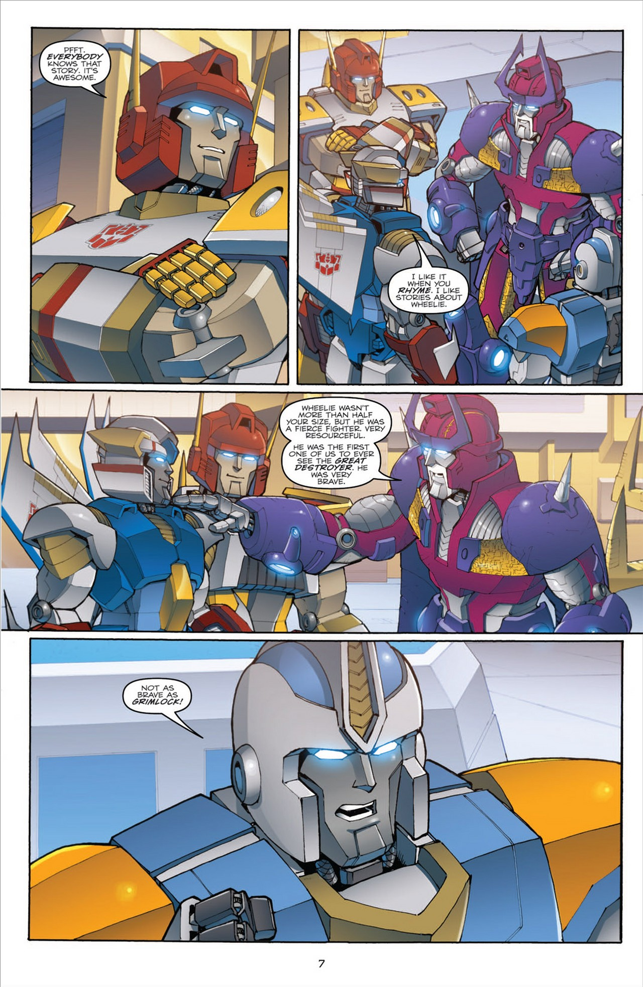The Transformers (2009) chap 31 pic 11