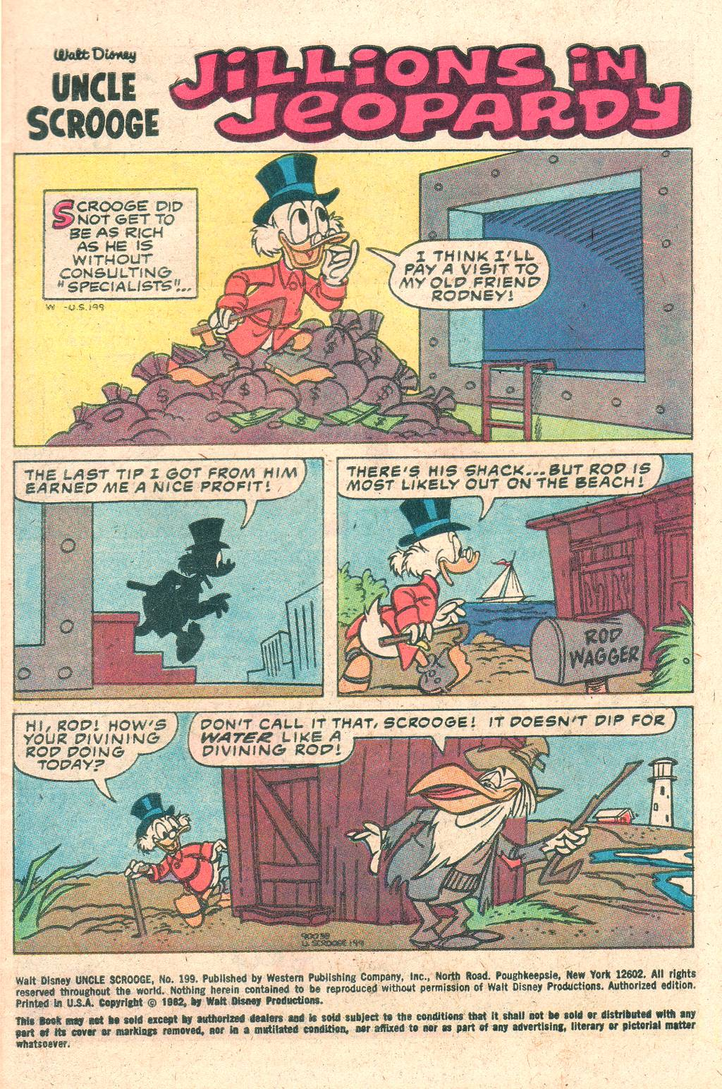 Uncle Scrooge (1953) Issue #199 #199 - English 3