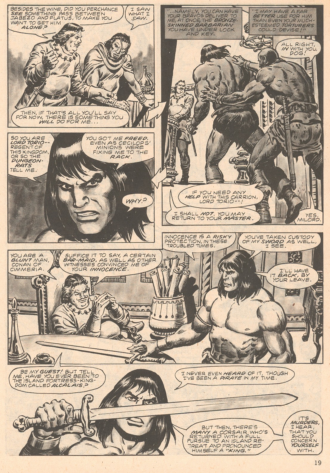 The Savage Sword Of Conan Issue #66 #67 - English 19