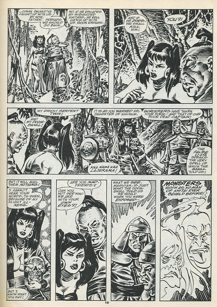 The Savage Sword Of Conan Issue #193 #194 - English 21