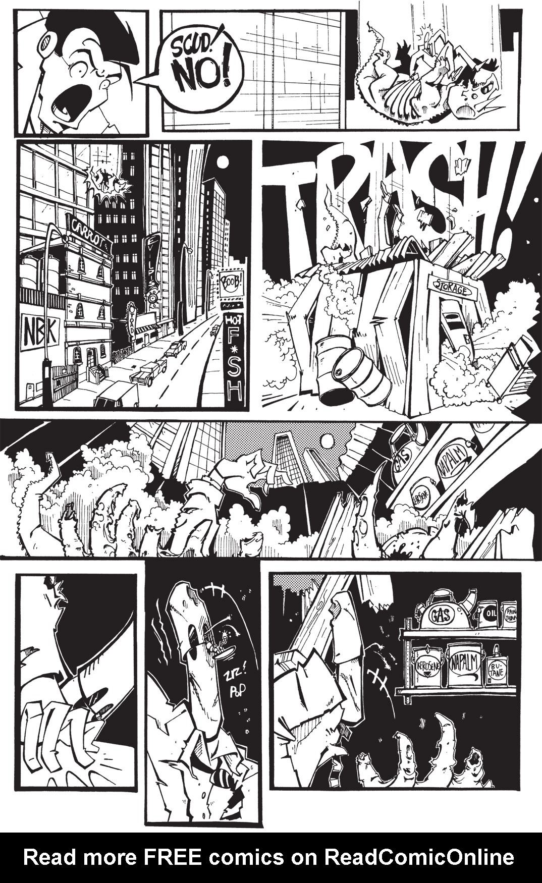 Read online Scud: The Disposable Assassin: The Whole Shebang comic -  Issue # TPB (Part 1) - 126