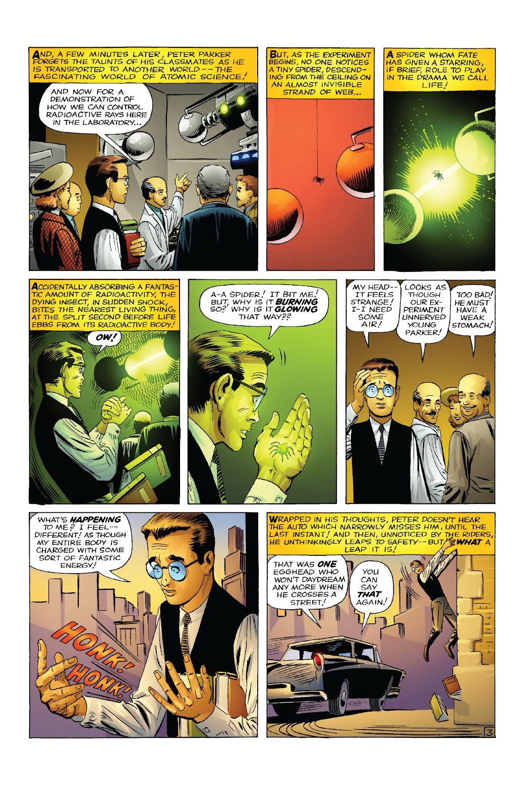 Amazing Fantasy #15: Spider-Man! Full #1 - English 5