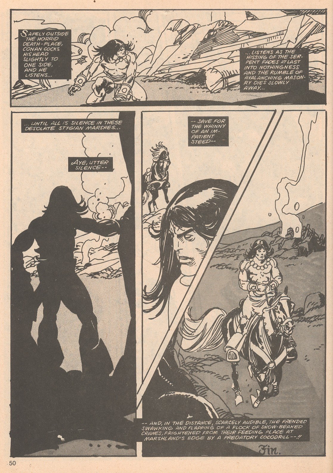 The Savage Sword Of Conan Issue #65 #66 - English 50