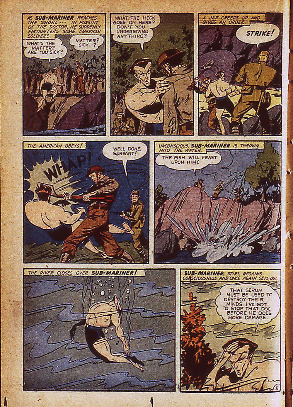 Sub-Mariner Comics Issue #8 #8 - English 35