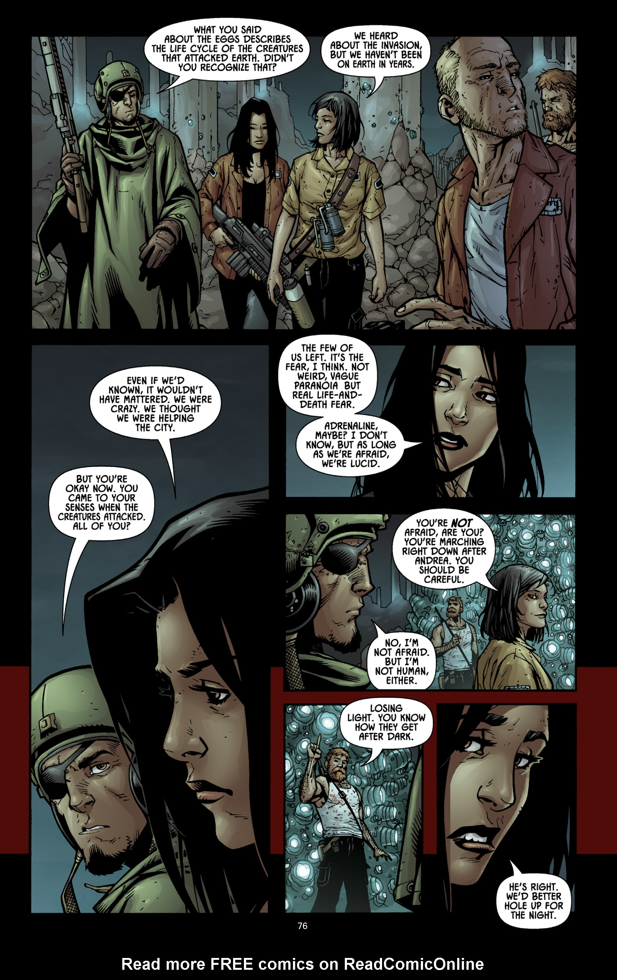 Aliens (2009) TPB Page 71