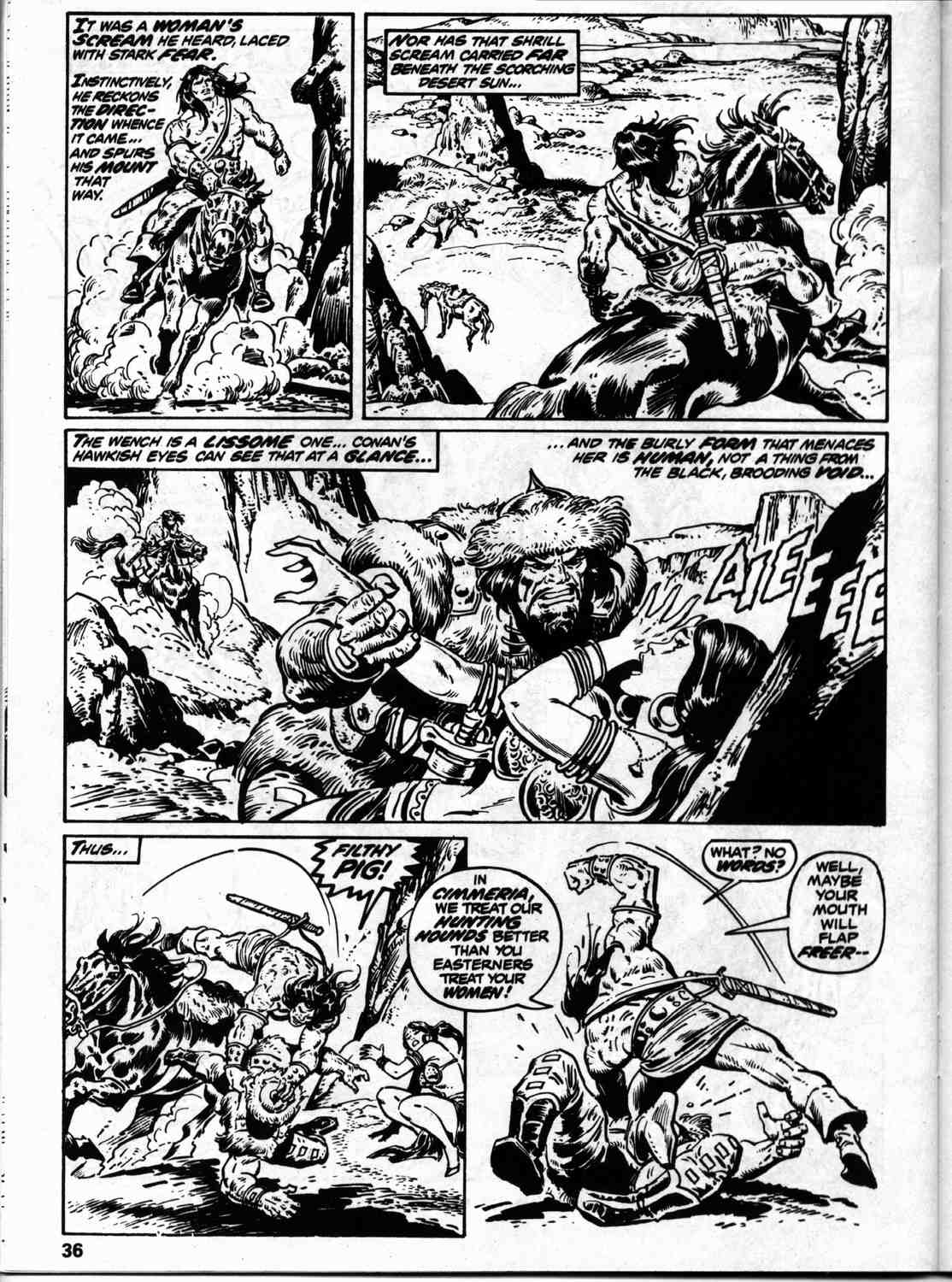 The Savage Sword Of Conan Issue #59 #60 - English 43